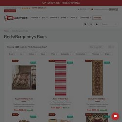 Buy Burgundy Area Rugs in Canada at Discounted Prices