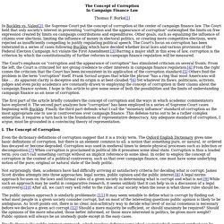 Burke - Campaign Finance Law