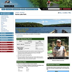 Burke Lake Park - Fairfax County, Virginia