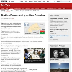 Burkina Faso country profile - Overview