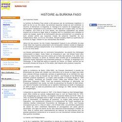 BURKINA FASO - Histoire