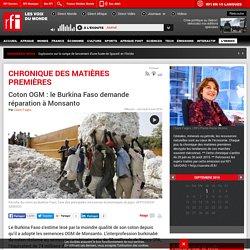 RFI 06/04/16 Coton OGM : le Burkina Faso demande réparation à Monsanto