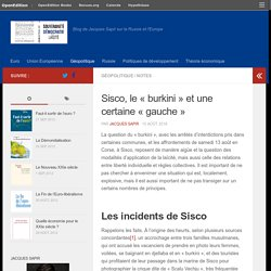 Sisco, le «burkini» et une certaine «gauche»