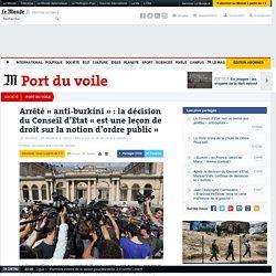 Arrêté «anti-burkini»: la décision du Conseil d'Etat «est une leçon de droit sur la notion d'ordre public»