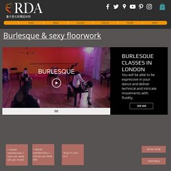 Learn Sexy Burlesque Moves in London - ruggieriacademy