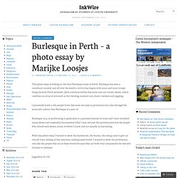 Burlesque in Perth – a photo essay by Marijke Loosjes