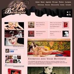 Be Burlesque | Le site que les pin-ups adorent !