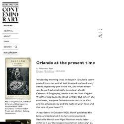 Burlington Contemporary - Reviews - Orlando at the present time