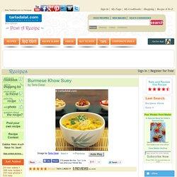 Burmese Khow Suey recipe
