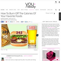 Burn off Your Meal