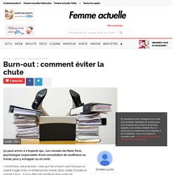 Burn-out : comment éviter la chute