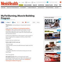 My Fat Burning, Muscle Building Program | Belly Off! Meet the Trainer