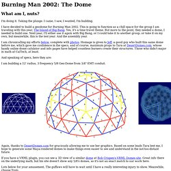 Burning Man 2002: The Dome
