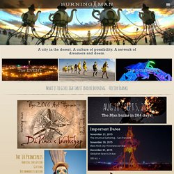The Burning Man Project :: Welcome Home