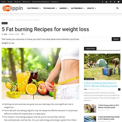 Fat burning recipes for weight loss guidance