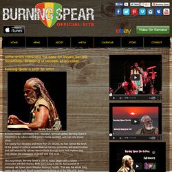 Burning Spear - The Story
