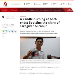 A candle burning at both ends: Spotting the signs of caregiver burnout