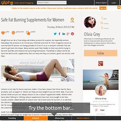 Safe Fat Burning Supplements for Women