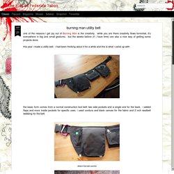 5. the blog of Federico Tobon: burning man utility belt