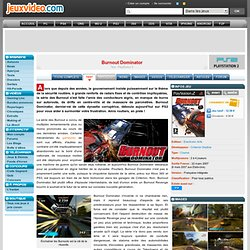 Test de Burnout Dominator sur Playstation 2