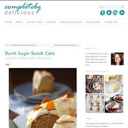 Burnt Sugar Bundt Cake