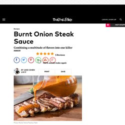 Burnt Onion Steak Sauce Recipe
