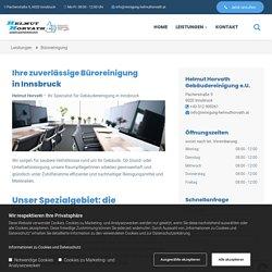 Büroreinigung in Innsbruck