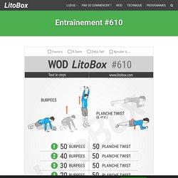 150 burpees challenge Litobox avec 250 abdos #610