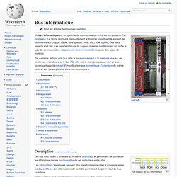 Bus informatique