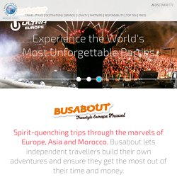 Busabout - The Travel Corporation