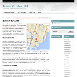 Busan General Info.
