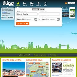Ofertas vuelos, vuelos económicos y vuelos low cost en liligo.com