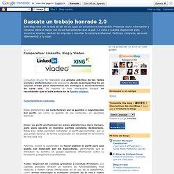 Comparativa: LinkedIn, Xing y Viadeo