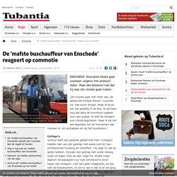 De 'mafste buschauffeur van Enschede' reageert op commotie