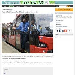 Laat leukste buschauffeur Shandrick een voorbeeld zijn!
