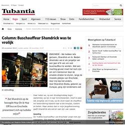 Column: Buschauffeur Shandrick was te vrolijk