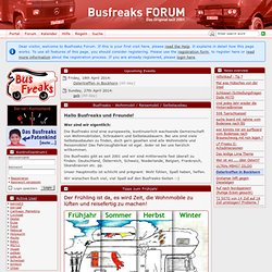 Portal - Busfreaks Forum - motor home, self-development, engineering, electrical