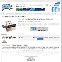 4ltr Dutch Oven Bushcraft Camping Western Gift Box Set