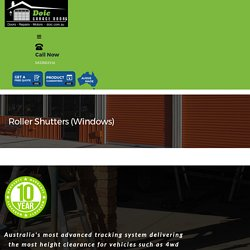 Roller Shutters Installer in Perth