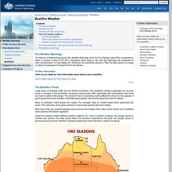 Bushfire Weather