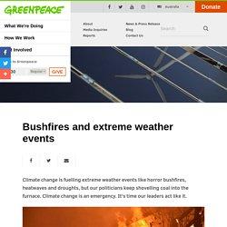 Bushfires & extreme weather