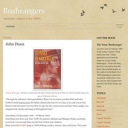 Bushrangers: John Dunn