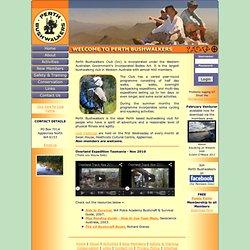 Perth Bushwalkers Club - Bushwalking Western Australia