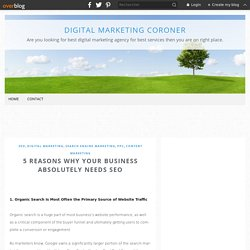 5 Reasons Why Your Business Absolutely Needs SEO - Digital Marketing Coroner