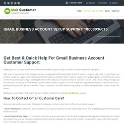 Gmail Business Account Setup Support 18008036015