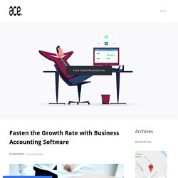 Fasten the Growth Rate with Business Accounting Software - ACE