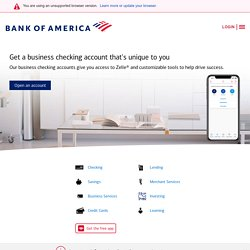 Small Business Loans, Payroll Services & Other Small Business Services from Bank of America
