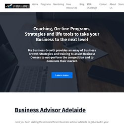 Ask Experienced Business Advisor Adelaide