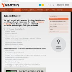 accounting and business advisory