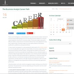 Career in Business Analysis - Imarticus